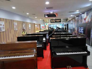Used piano exhibition