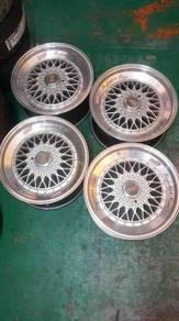 Rim BBS 17 silver