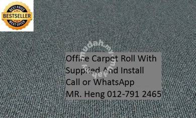 Office Carpet Roll with Expert Installation 40YF