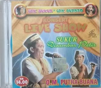 Sukur Disambar Petir O.M. Putra Buana Konsert Live