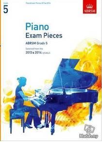 ABRSM Grade 5 Piano Exam Pieces CD 2013-14