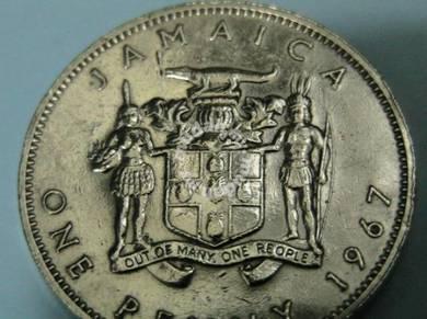 British Jamaica 1 Penny 1967