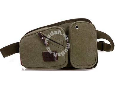 HUNTSMAN Multifunction Pouch Bag Backpack (Green)