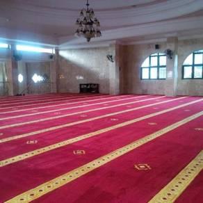 Karpet masjid uzairayyan selesa