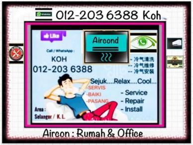 Aircond Murah arcon SEL&KL- Taman Tun Dr Ismail