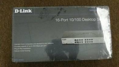 D-Link Desktop Switch 16 Port