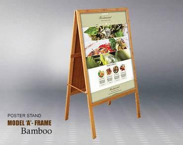 Poster Stand Model BB - 2 Belah Muka
