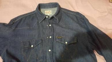 Wrangler baju western vintage