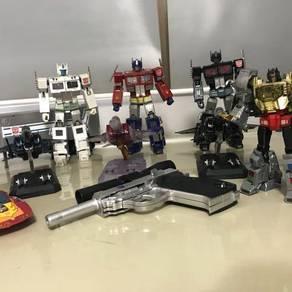 Transformer masterpiece for sales (9 piece)