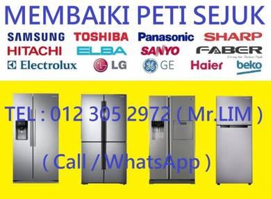 Membaiki Peti Ais / Repair Refrigerator