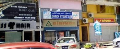 Kedai untuk disewa di pusat bandar kuala terengganu