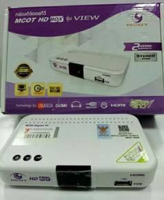 Dekoder DVB-T2 Mytv Siaran Percuma