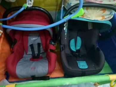 Stroller / car seat baby sweet cherry