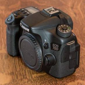 Canon EOS 70D (W) Body Only