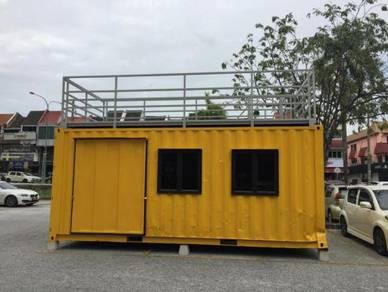 20GP Custom Kedai Container / Food Kiosk Container
