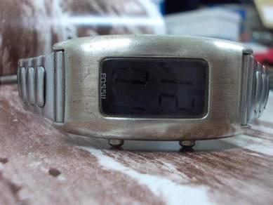 Vintage fossil lady digital watch