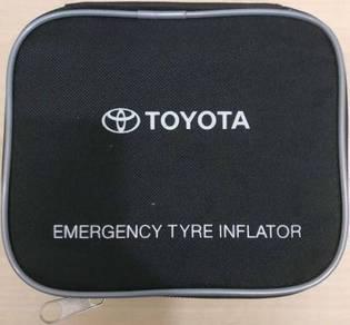 Emergency tyre inflator