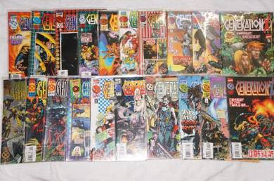GENERATION X. 1994 series. issue 1-25