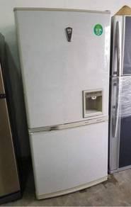 Samsung big fridge 2 doors Peti Sejuk Ais