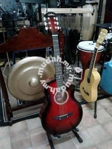 Gitar Akustik : Merah (38