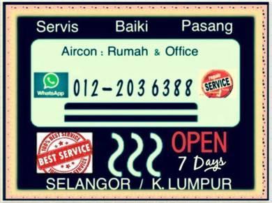 Aircond SEL &KL Aircon Murah- Jalan Ampang & other