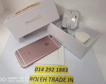 IPHONE -6S- 64GB ROSEGOLD