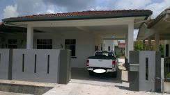 Single Storey Corner Taman Bougevilla 8 Mile Old Oya
