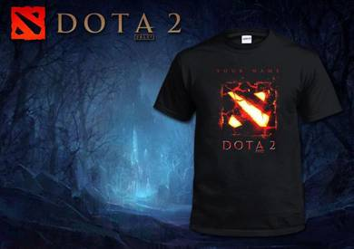 DOTA 2 T Shirt - Red Blood