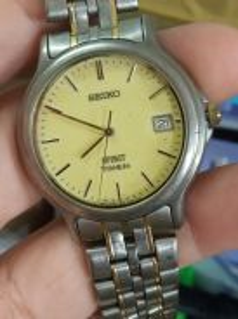 Vintage SEIKO spirit titanium watch