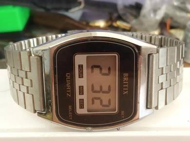 Vintage Britix digital watch retro