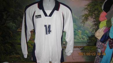 Vintage 90s asics jersey sz L