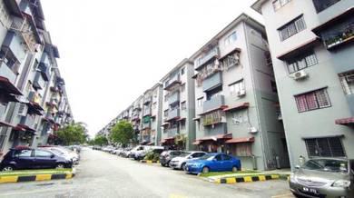 {MURAH GROUND FLOOR} Taman Equine Seri Kembangan, Renovated Nice Unit