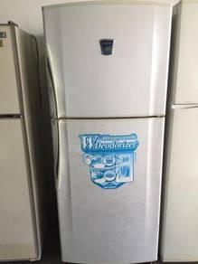 Fridge Sharp Peti Sejuk Refurbish Refrigerator Ice