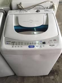 Mesin Basuh 7.5kg Washing Machine Auto Toshiba