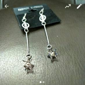 3D Stars Earrings