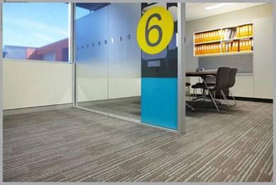 Carpet Commercial Office / Shop Karpet Tiles