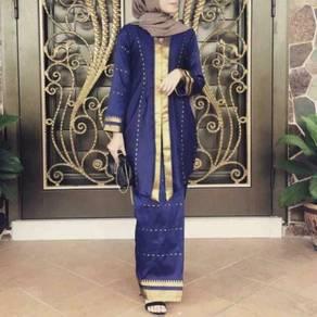 Kain pasang sare (cotton silk)
