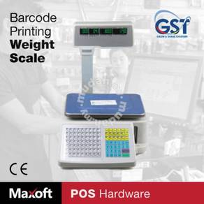 Digital Weight Scale With Label Printer