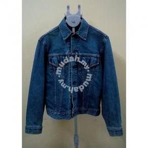 Vintage Levis Big E Lot 71557 Denim Jacket (Origin
