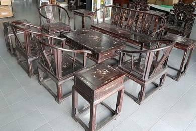 Living Hall Wooden Furniture Set