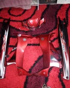 Coverset 125zr merah hitam original