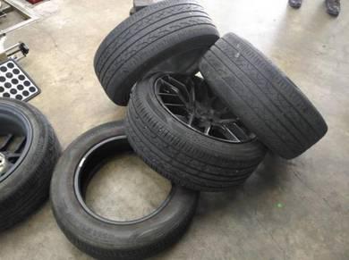 Tyre hankook ventus V2 concept2