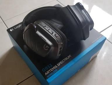 Logitech G933 Artemis's Spectrum 7.1 Sound