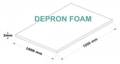 Depron Foam High Quality W1000mm x L1000mm x T3mm