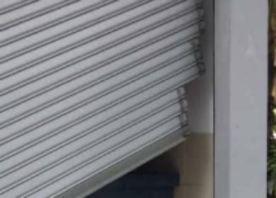 Roller shutter repair job KL