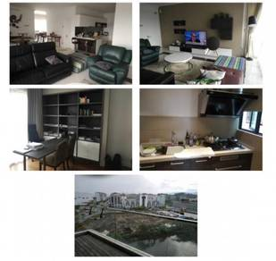 The loft blk c / 9th flr / fully furnished / seaview & building view