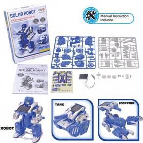 D - 3 in 1 Solar Robot Kit