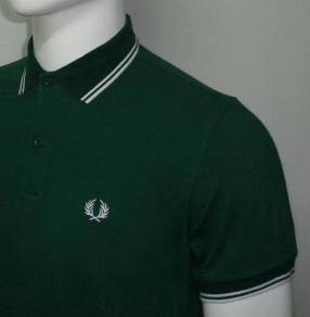 Fred Perry Twin Tipped Polo - GREEN