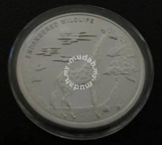 2007 Congo 10 Franc Commemorative Coin