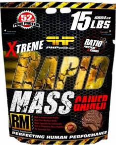 Xtreme Rapid Mass Protein 15lbs Weight Gainer Otot